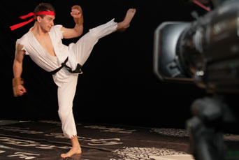 Filming Darth Vader vs Ryu Viral Film