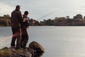 Greys brand ideal filming fly fishing