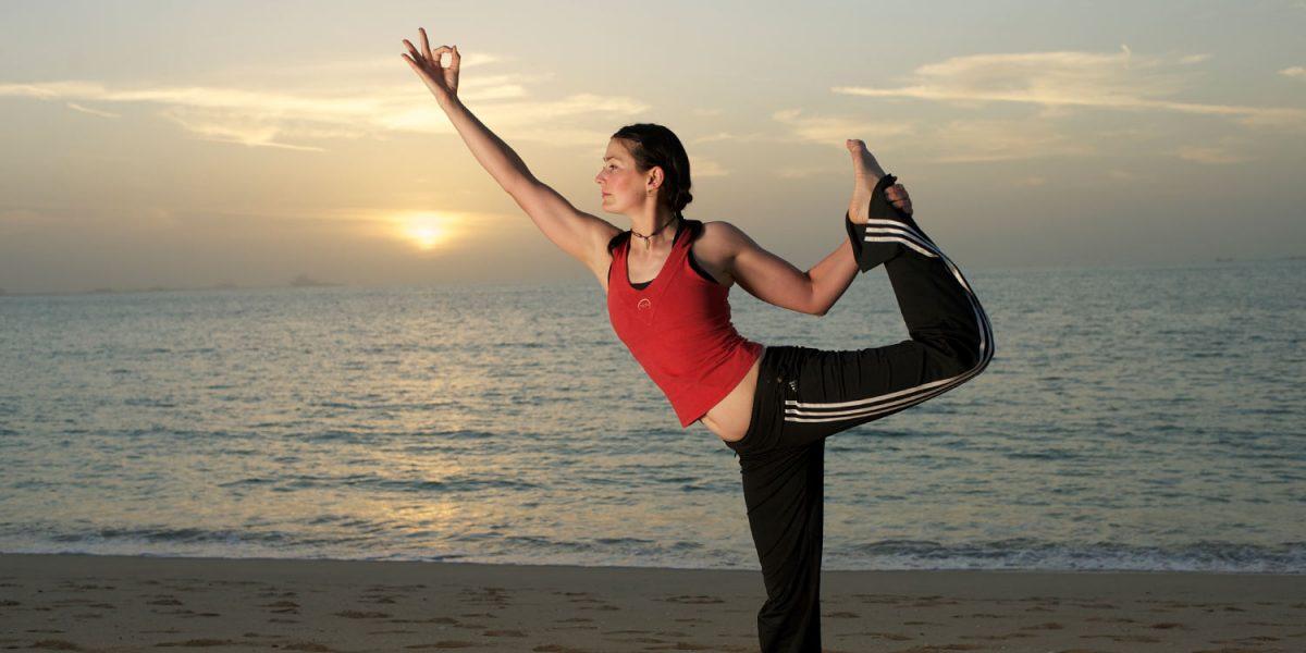 Enerchi Fitness Yoga DVD Filmed