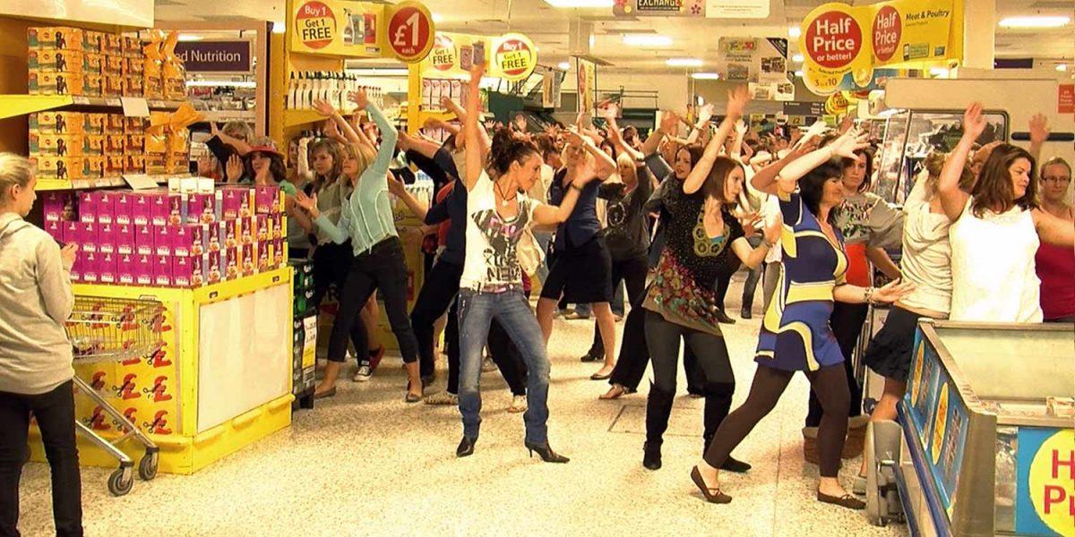 Zumba Tesco Flashmob Filming